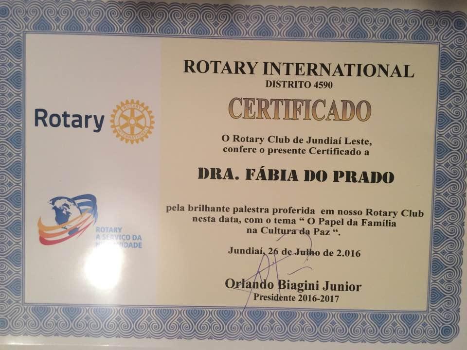 Evento Rotary Jundiaí